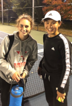 Hayley Garber and Eliana Yang